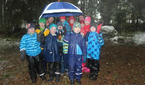 Mäntsälän eskarilaiset tutustuivat partioon
