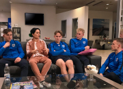 Palloliitto ja Telia dokumentoivat Minihuuhkajien matkan kohti kesän EM-kotikisoja