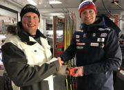 Olympiatoppen har inngått et samarbeid med den finske høyteknologi bedriften Exiops