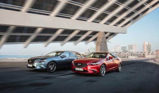 Mallivuoden 2017 Mazda6 lanseerataan Suomessa marraskuussa