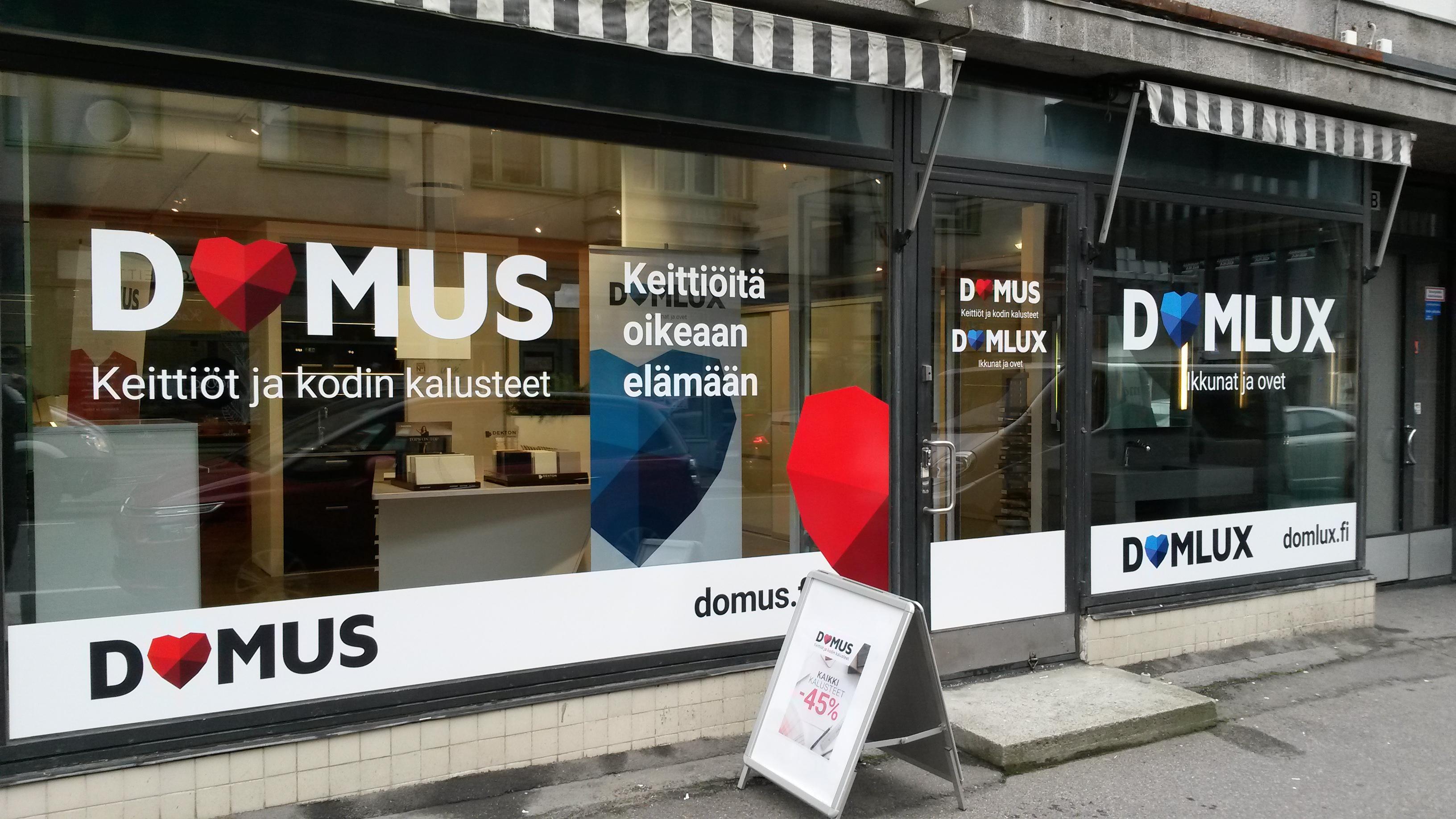 Tervetuloa Kuopioon uusittuun keittiökaluste ja ikkunamyymäläämme avajaisvii