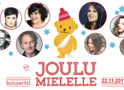 JouluMielelle-hyväntekeväisyyskonsertti Helsingin Kulttuuritalolla ke 22.11. ja MTV3:lla su 17.12. – tervetuloa mukaan!