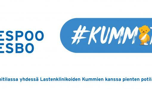 Koko Espoo #kummitilaan: Espoo on yksi Lastenklinikoiden Kummien pääyhteistyökumppaneista 2020
