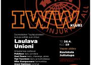 Tuplajuulaisten lauluja 26.4. IWW-klubilla Juttutuvassa