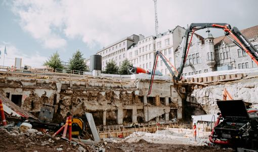 Uusi toimistotalo alkaa nousta Kasarmitorin laidalle syksyn aikana