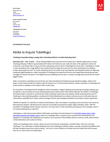 adobe-to-acquire-tubemogul-id-116395.pdf