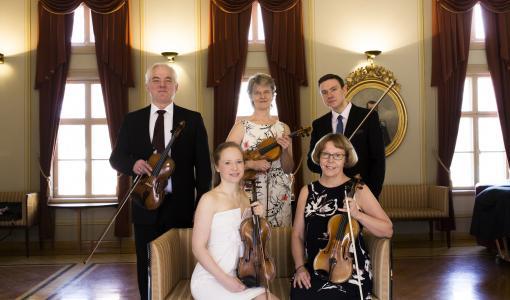 Lappeenrannan kaupunginorkesterin syyskuun kamarikonsertit soivat Raatihuoneella päivällä ja illalla