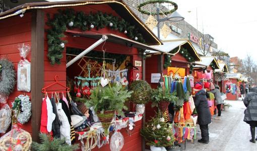 Lappeenrannan Joulukadun mökkien myynti on alkanut