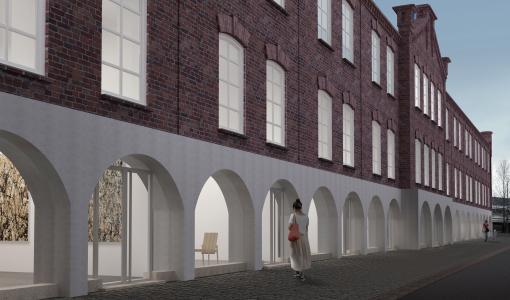 Aalto-yliopiston arkkitehtiopiskelijat ovat ideoineet uusia käyttötarkoituksia Lappeenrannan Rakuunamäen kasarmirakennuksille