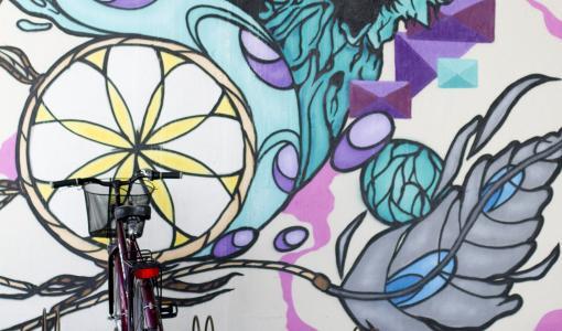 Parkkarilankadun ja Takojankujan alikulkutunneleihin maalataan luvallisia graffiteja heinä- ja elokuussa
