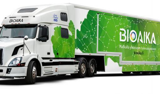 UPM:n, LUT:n ja Lappeenrannan kaupungin innovaatiot esiin Bioaika-rekalla 10.8.
