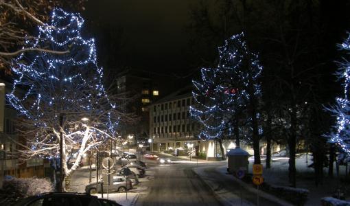 Lappeenrannan keskustan ja Joutsenon talvivalot syttyvät perjantaina 29. syyskuuta