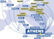 Ryanair aloittaa Ateenan lennot Lappeenrannan lentokentältä