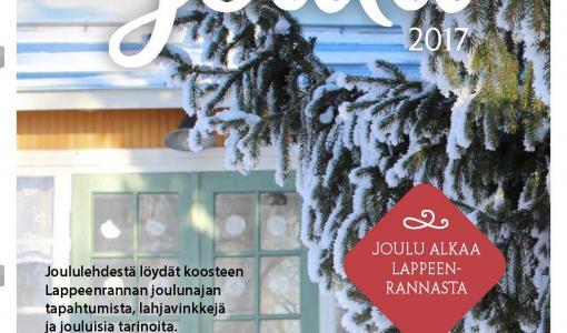 Lappeenrannan Joululehti ilmestyy 5. joulukuuta