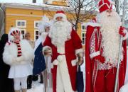 Joulupukki ja Pakkasukko tapaavat Lappeenrannassa tiistaina 19.12.2017