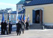 Lappeenrannassa juhlistetaan kansallista veteraanipäivää perjantaina 27.4.2018 kaupungin keskustassa, Joutsenossa ja Ylämaalla