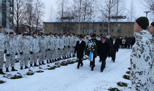 Itsenäisyyspäivää juhlistetaan eri puolilla Lappeenrantaa