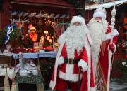 Joulupukki ja Pakkasukko tapaavat Joulutorilla torstaina 20.12.