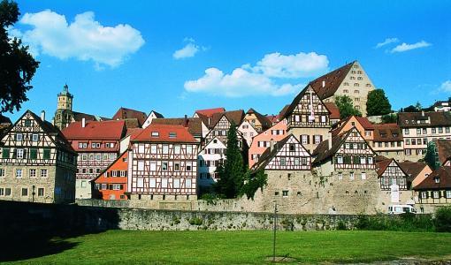 Haettavana paikka saksan kielen intensiivikurssille Schwäbisch Halliin