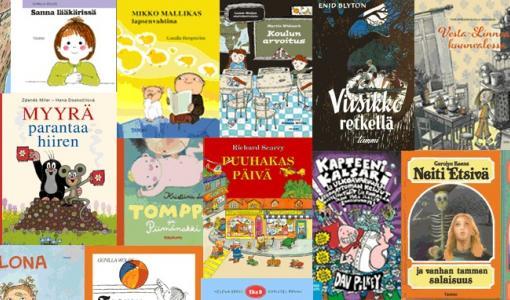 Äänestä lastenkirjaa, josta haluaisit uusintapainoksen!