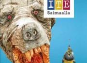 Matkailijoita opastetaan ITE-taiteen kierrokselle Etelä-Savoon reittikartan avulla