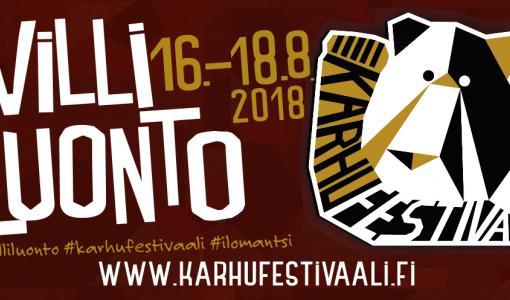 Kaikkien Karhufestivaali Ilomantsissa ensi viikolla