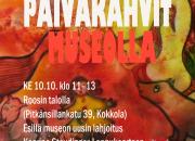 Kaarina Staudinger-Loppukaarteen maalauksia ITE-taiteen kokoelmaan