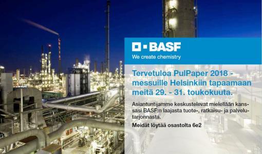 BASF mukana PulPaper messuilla
