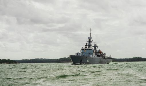 Minfartyget Hämeenmaa gör en avstickare till Vasa 12-14.8.