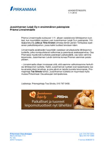 20121031-jussinhannan-leipa-oyn-ensimmainen-paistopiste-prisma-linnainmaalle.pdf