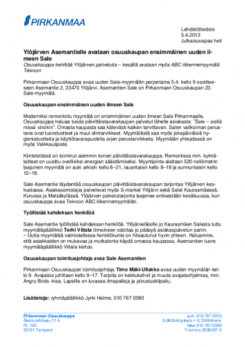 20130405-ylojarven-asemantielle-avataan-osuuskaupan-ensimmainen-uuden-ilmeen-sale.pdf