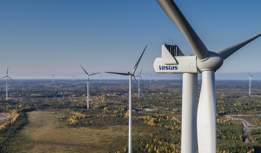 Annankankaan tuulipuisto vihittiin käyttöön Raahessa