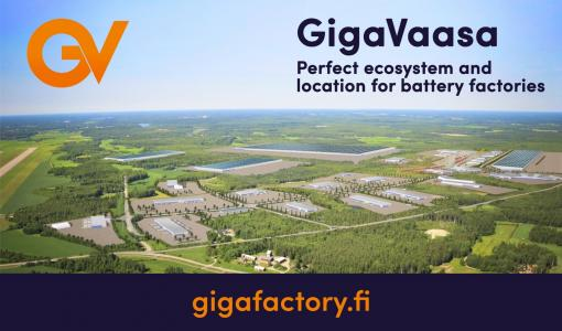 GigaVaasa factory area enables the start-up of large battery factory projects in summer 2018