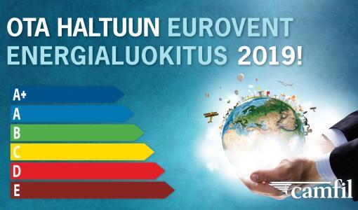 Uusi Eurovent energialuokittelu ilmansuodattimille