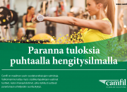 Camfil Tampereen Sportec -liikuntapaikkamessuilla 27.-28.3.