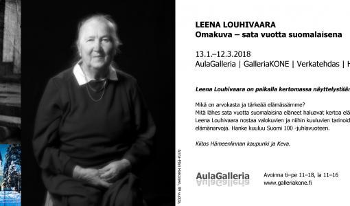 Omakuva – sata vuotta suomalaisena 2017 -näyttelyn lehdistötilaisuus Hämeenlinnassa 12.1.2018 klo 13-14