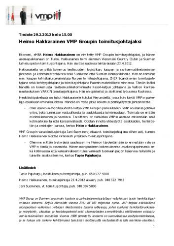 VMP_Tiedote_Heimo_Hakkarainen_toimitusjohtaja_29022012.pdf