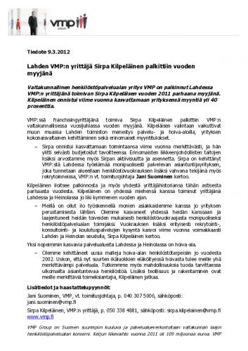 kilpelainen_tiedote_vmp_final.pdf