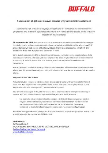 buffalo_tiedote_pkkysely_261113.pdf