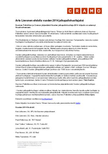 jalkapallohuoltaja2014_finaalivaihe_paikallistiedote_tampere2_final.pdf