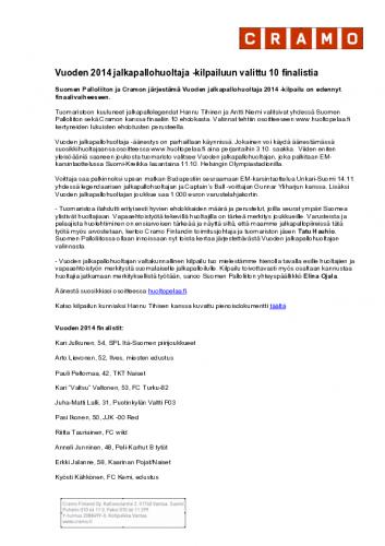 jalkapallohuoltaja2014_finaalivaihe_tiedote_final.pdf