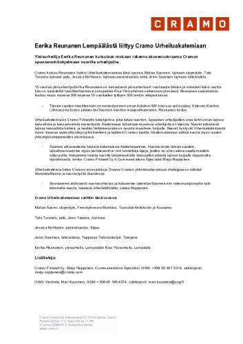 cramourheiluakatemia_lempa-cc-88a-cc-88la-cc-88_reunanen_tiedote_luonnos.pdf