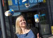 Salla Vasenius voitti R-kioskin suvaitsevaisuuskupin suunnittelukilpailun