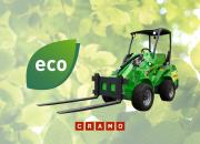 Vähäpäästöisten rakennuskoneiden ja -laitteiden kysyntä kasvaa - Cramo lanseeraa uuden vihreän tuotelinjan