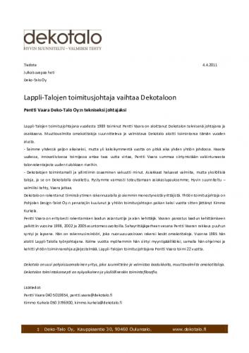 1301905191-tiedote-lappli-talojen-toimitusjohtaja-vaihtaa-dekotaloon-04042011.pdf
