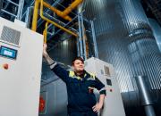 Sinebrychoff vähensi juomanvalmistuksen hiilidioksidipäästöjä lämmön talteenotolla