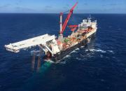 Nord Stream 2 -putkilinjan asentaminen alkoi Suomessa