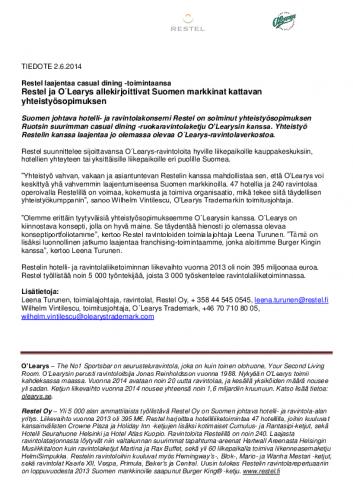lehdistotiedote_olearys-ja-restel.pdf