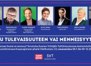 Suomen uhkarohkeimman yrittäjän 2017 julkistaminen SuomiAreenalla