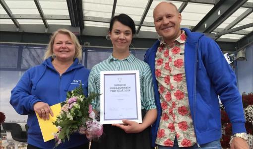Suomen uhkarohkeimmaksi yrittäjäksi Jenni Parpala